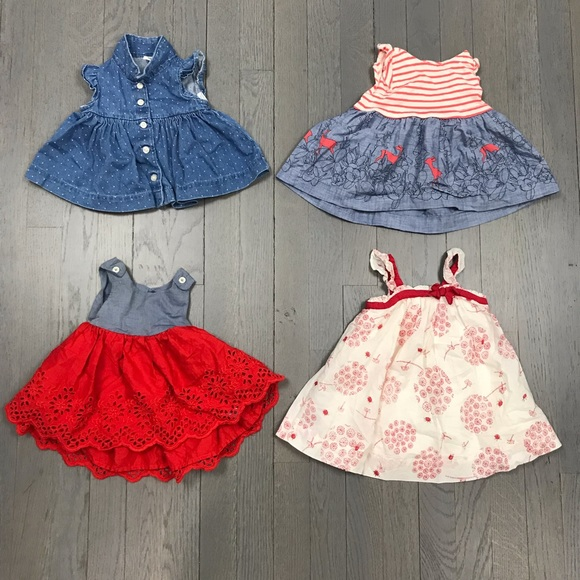 38f319cb532 GAP Other - Baby Gap Chambray Deer Print Eyelet Dress Bundle